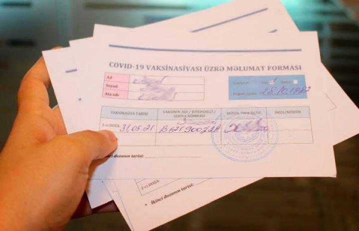 Maştağa xəstəxanasında saxta vaksin pasportu satılıb: Cinayət işi açıldı